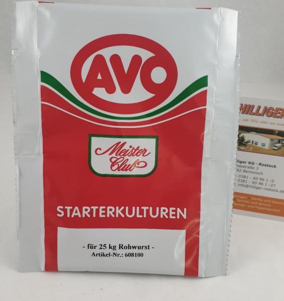 Starterkulturen #608100 AVO für 25 Kg Beutel 10g