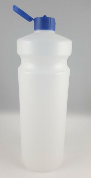 Flasche leer mit Spritzverschluss