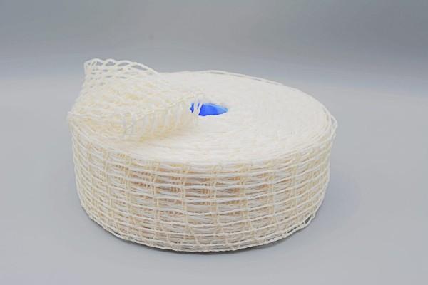 Bratennetz weiß Rolle 50m verschiedene Kaliber Räuchernetz Fleischnetz Rollbratennetz