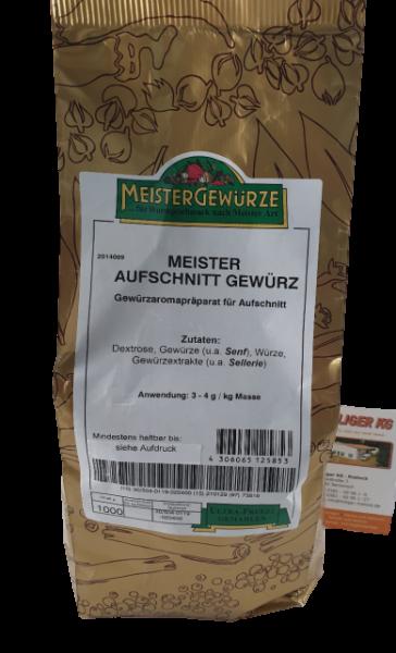 Meistergewürz Hausmacher Leberwurst