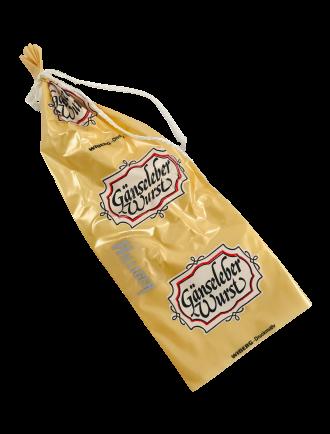Faserdarm beschichtet gold ''Gänseleberwurst'' Kaliber 57/20