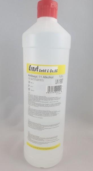 Antisept 11,alkoholische Desinfektion,Spritzverschluss 1Liter-