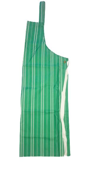 Latzschürze mit Nacken- und Taillenband beschichtet 70x100 cm