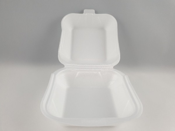 Hamburger Box weiß 125x125mm