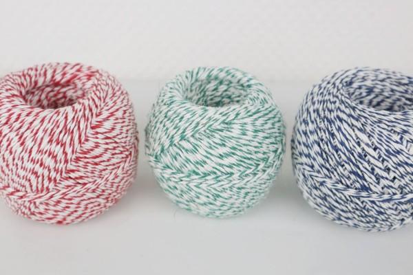 Wurstgarn Wurstband zweifarbig 200g