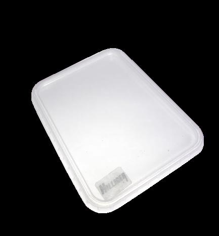 Deckel für Rechteckschale Unibox Salatschale PP klar