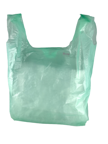 Hemdchentragetaschen GRÜN groß 30+18x55cm 2000 St