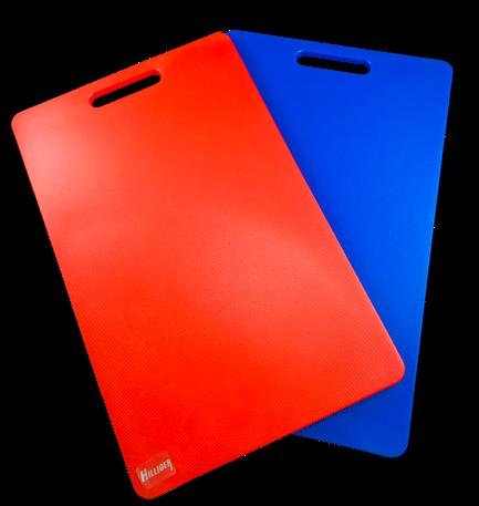 Schneidebrett HACCP blau oder rot Kunststoff