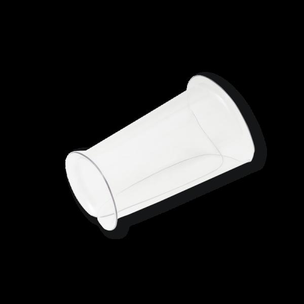 Plexi-Armschutz Schnittschutz Hartplastik Gr. XL