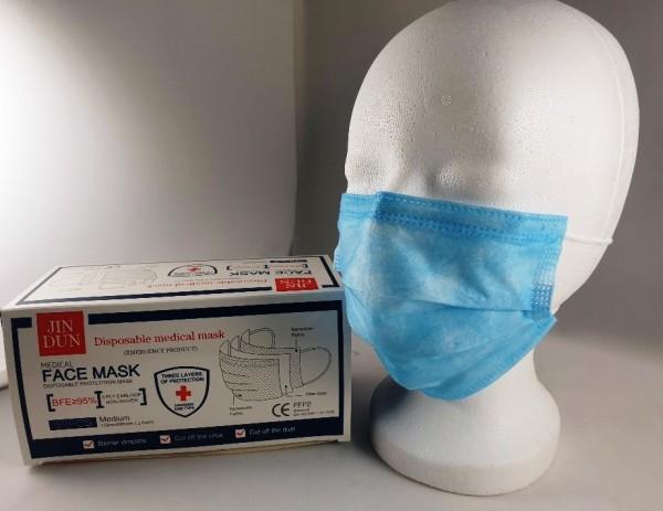 Mundschutz OP Maske FFP2 Gesichtsschutz Atemmaske 10ST