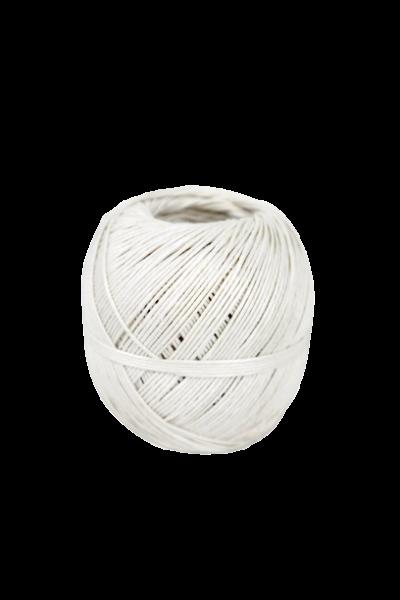 Wurstgarn Wurstband Rollgarn 100g weiß
