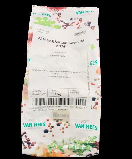 Landrotwurst oGAF VAN HEES