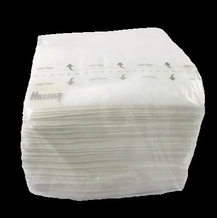 Abwaschlappen Spültuch reißfest weiß 40 Stück Einweg-Mehrzwecktücher