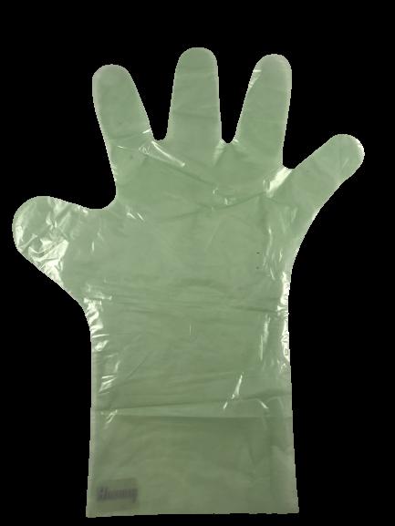 Polyhandschuhe grün extra reißfest VE 100 St.