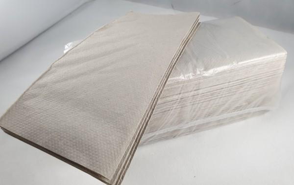 Falthandtücher natur 25x23 Zick Zack Faltung H3 250 St
