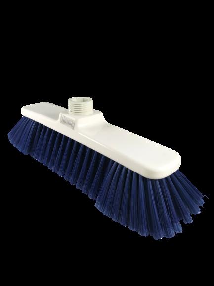 Besen HYGENIA-System Haarbesen blau HACCP in 3 Breiten weiche Borsten