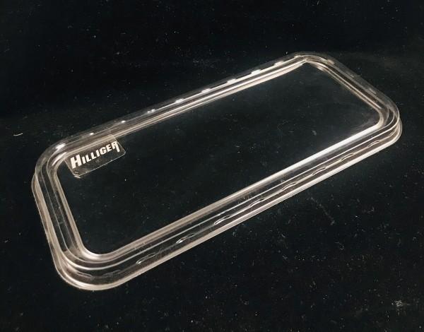 Deckel für Rechteck Salatschale länglich transparent 500ml und 1000ml