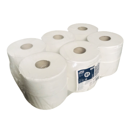 Tork Toilettenpapier 2 lagig Mini Jumbo T2 12 Stück