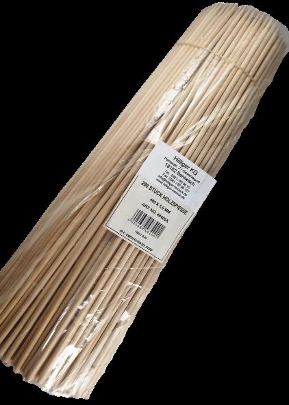 Holzspieße Fackelspieße 40cm lang x5mm stark