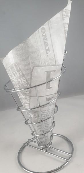 Pommes Spitztüte Zeitungsdruck 5 kg
