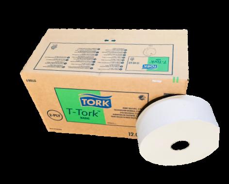 Tork Basic Jumbo Toilettenpapier 2 lagig 6 Rollen