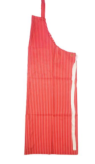 Latzschürze mit Nacken- und Taillenband beschichtet 80x120 cm