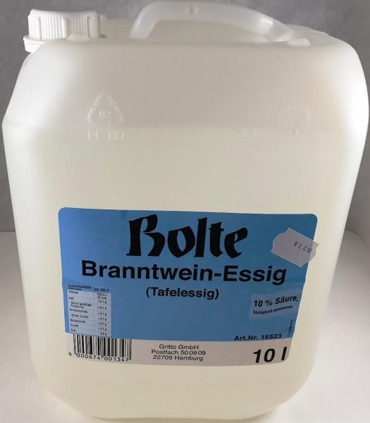 Essig Tafelessig Essigessenz 10% Kan. 10l
