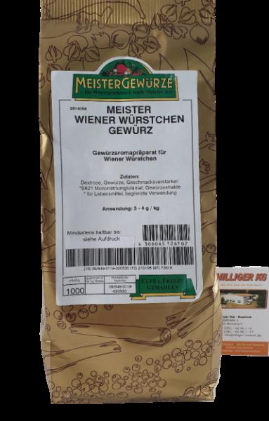 Meistergewürz Wiener Würstchen VE 1kg