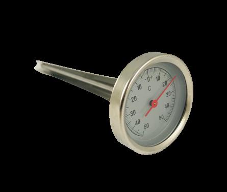 Fleisch Einstechthermometer -50 bis 50°C Skala Bratenthermometer