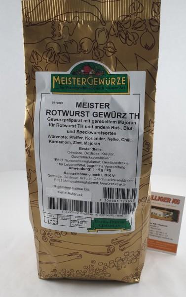 Meistergewürz Thüringer Rotwurst VE 1kg
