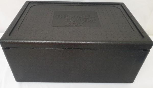 Isolier-Transportbehälter Thermobox 1/1 Gastronorm mit Deckel schwarz