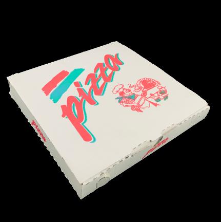 Pizzakarton 24x24x3 cm 200 St.
