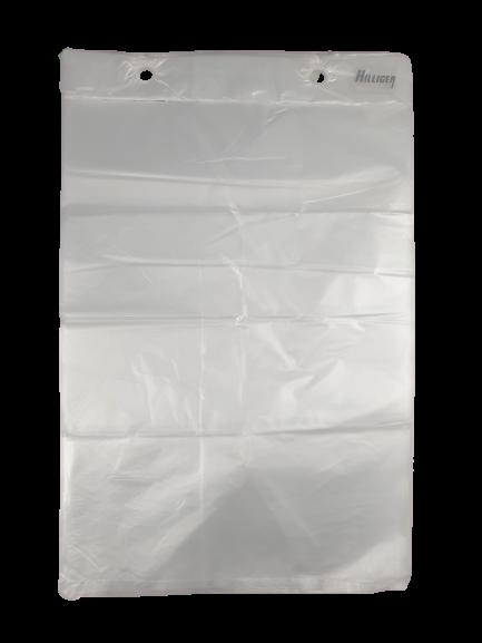 Flachbeutel Abrissbeutel transparent HDPE 10µ
