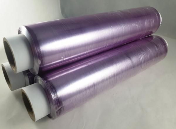 Frischhaltefolie PVC Länge 300m lila verschiedene Längen