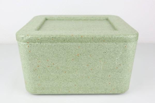 Styroporbox Isolier-Transportbehälter grün