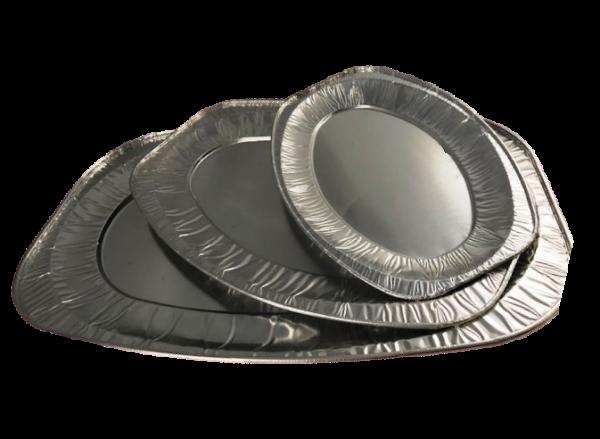 Partyplatten Aluminium 10 St versch. Größen
