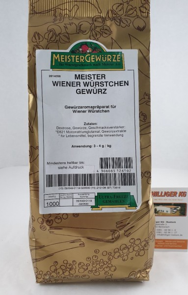 Meistergewürz Wiener Würstchen