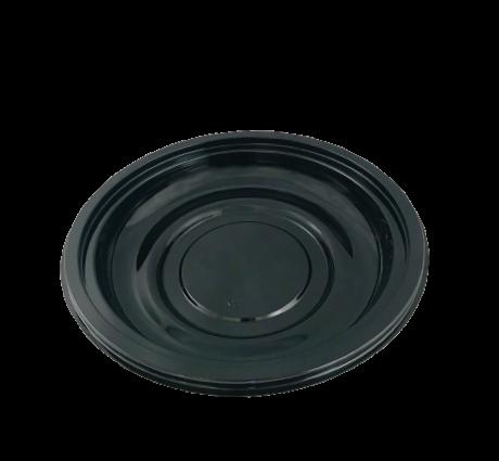 Salatschale UFO rund schwarz 600/750 ml 50 Stück