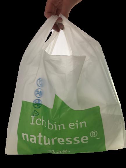 Bio Hemdchenbeutel Tragebeutel NATURESSE VE 100 St. kompostierbar