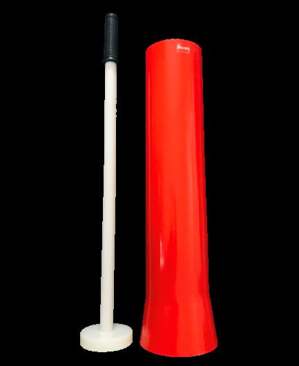 Einziehrohr Set mit Stössel Kaliber 16