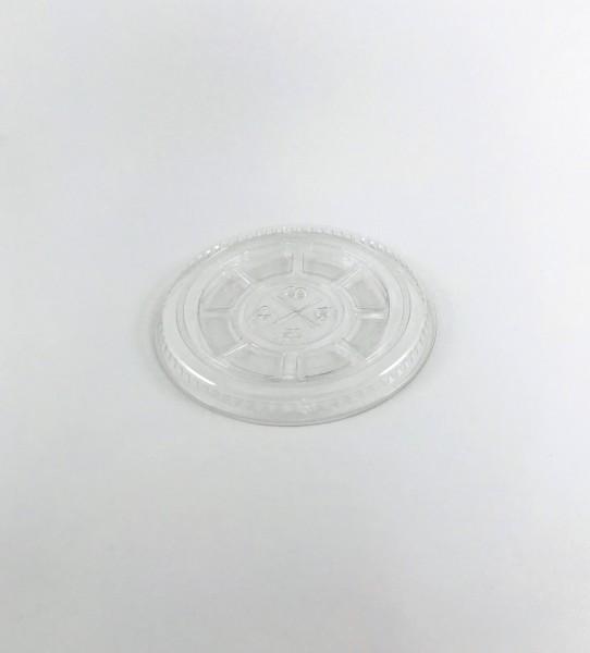 Trinkbecher Deckel mit Kreuzschlitz glasklar 400ml