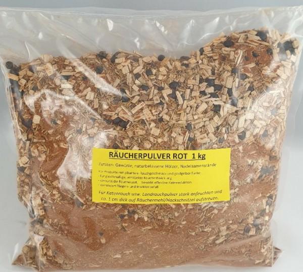 Räucherpulver Landrauch rot 1kg
