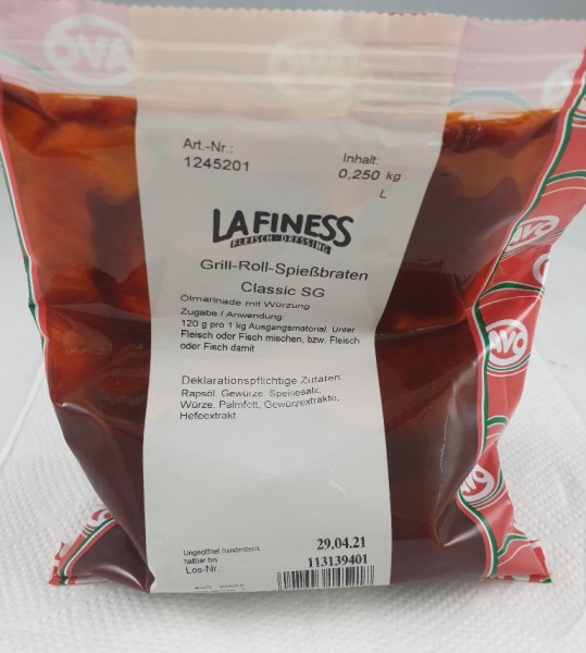 Lafiness Marinade Grill-Roll-Spießbraten VE 250g AVO