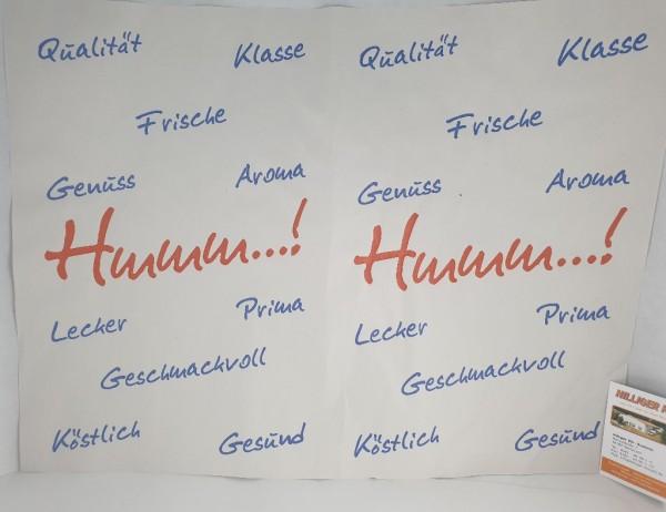 """Frischpapier Frischpack-Einwickelpapier Motiv """"Hmm"""" Kt 12,5kg"""