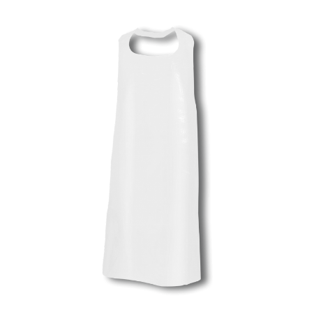 Einwegschürzen geblockt weiß 115x76cm 50St
