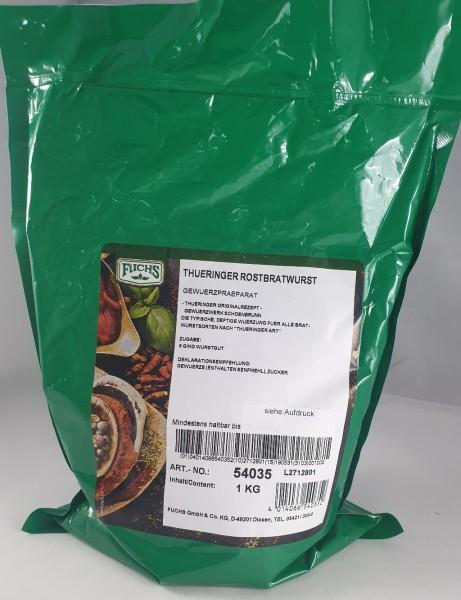 Thüringer Rostbratwurst Gewürz FUCHS VE 1kg