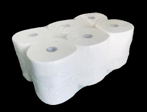 Handtuchrollen Premium 2 lagig hochweiß für Sensor-Spender Rollenhandtuchpapier