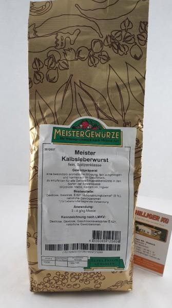 Meistergewürz Kalbsleberwurst