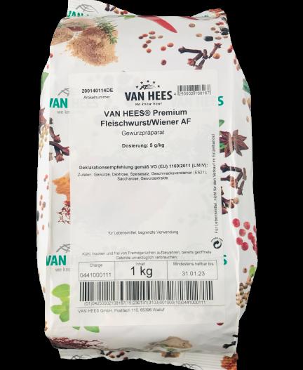 Premium Fleischwurst/Wiener AF Gewürzmischung VAN HEES
