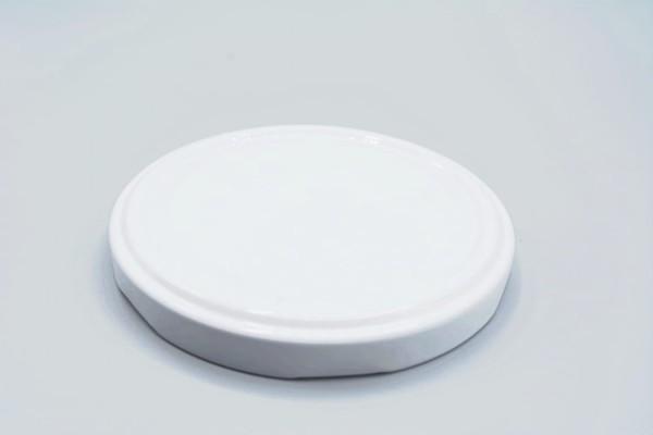 Deckel für Twist Off Gläser 82mm 15 St weiß oder karo
